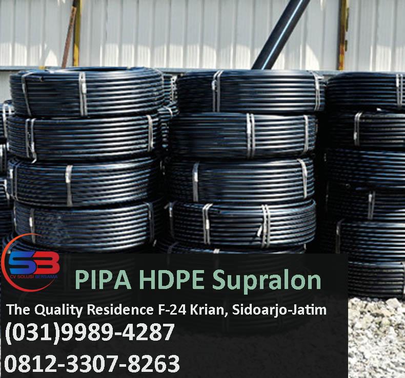 Update Harga Pipa HDPE Supralon http://hargapipahdpesurabaya.com