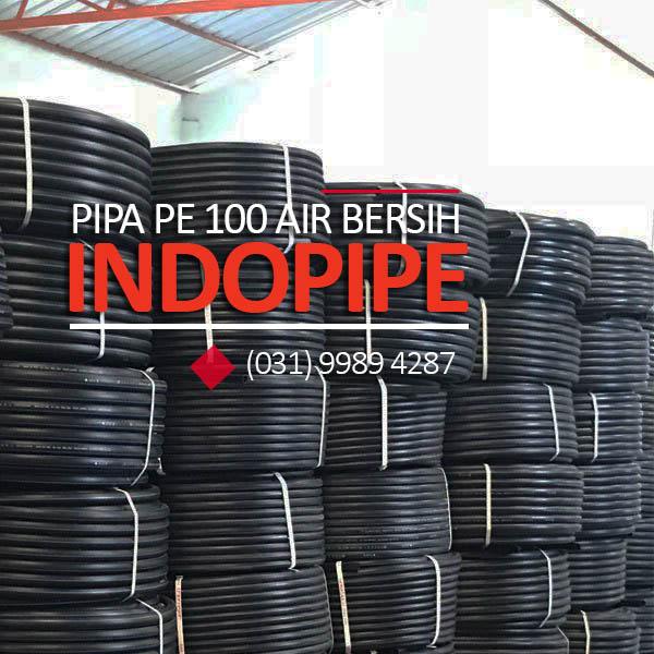 HDPE 100 Water Pipe PT.INDOPIPE http://hargapipahdpesurabaya.com/