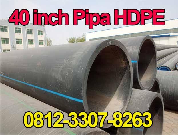 "Pipa HDPE OD 1000mm (40"") PN 12½, PN 10, PN 8, PN 6,3 http://hargapipahdpesurabaya.com/"