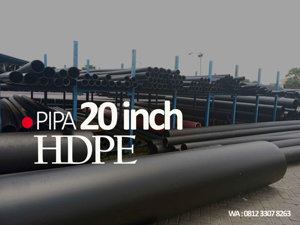 "Pipa HDPE OD 500mm (20"") PN 16, PN 12½, PN 10, PN 8, PN 6,3 http://hargapipahdpesurabaya.com/"